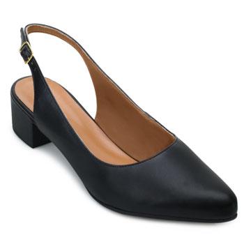 Sapato Scarpin Aquarela AQ21-004 Preto TAM 40 ao 44