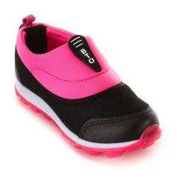 Tênis Botinho Juvenil 685 Preto-Pink