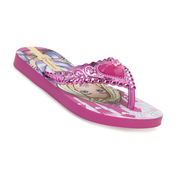 Chinelo Ipanema Barbie Princesa 26459 Rosa