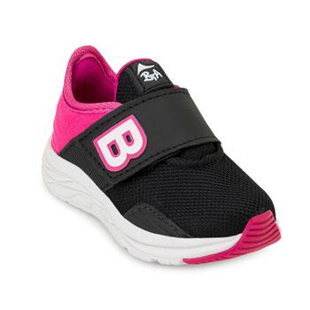 Tênis Batatinha Baby BT20-217 Preto-Pink