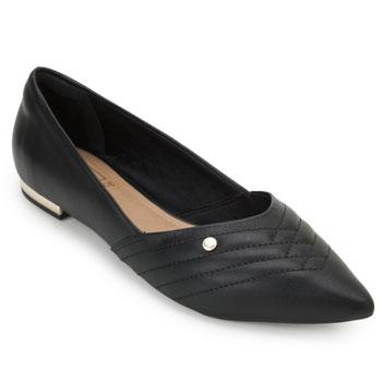 Sapato Bico Fino Bebecê BC20-T2016320 Preto