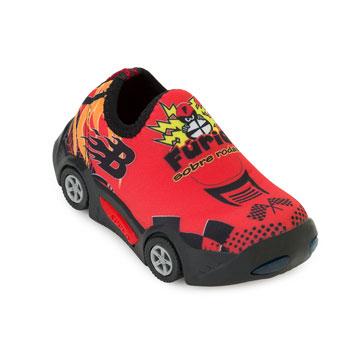 Tênis Carro Botinho Baby BT20-137 Vermelho