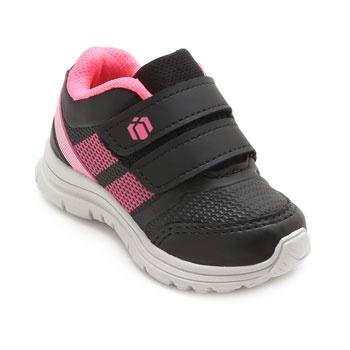 Tênis Baby Box Kids BK19-BB04 Preto-Pink