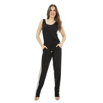 Calça Faixas CatWalk Plus Size CW19-5425CO Preto