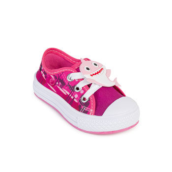 Tênis Star Chic Animals Baby Shark SC19-B4061 Rosa