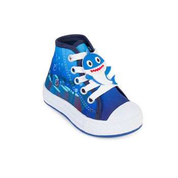 Tênis Star Chic Animals Baby Shark SC20-B4231 Azul