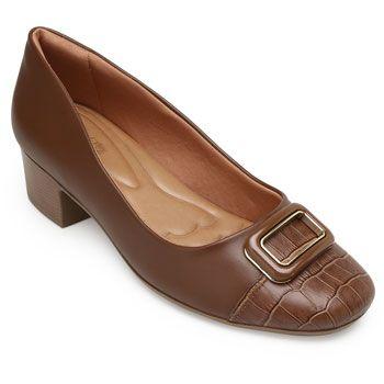 Sapato ComfortFlex CF19-1986303 Marrom