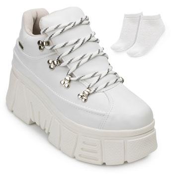 Tênis Dad Sneaker Dakota e Meia DT20-G2511 Branco