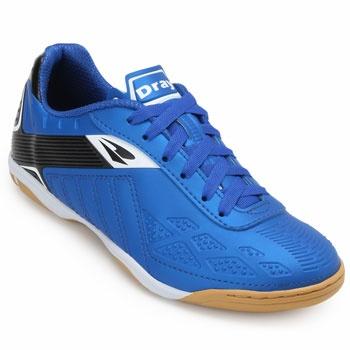 Chuteira Futsal Dray Indoor DR19-372CO Azul-Preto