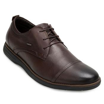 Sapato Casual Derby Ferracini FC20-6120559 Marrom TAM 44 ao 48
