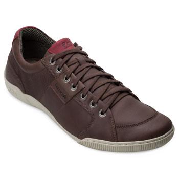 Sapatênis Ferricelli FE18-CL15085M Chocolate-Vermelho TAM 44 ao 48