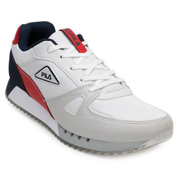 Tênis Fila Blazer FL20 Branco-Vermelho-Marinho TAM 44 ao 48