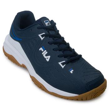 Tênis Fila Forehand FL20 Marinho-Branco-Azul TAM 44 ao 48