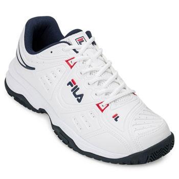 Tênis Fila Forehand FL20 Branco-Marinho-Vermelho TAM 44 ao 48