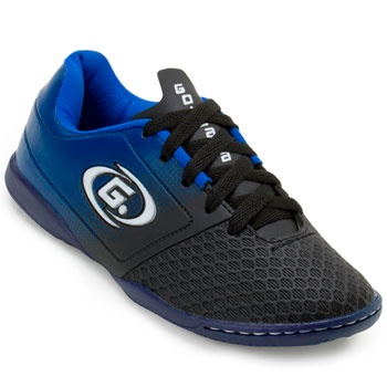 Chuteira Futsal Goleada GO19-5324 Preto-Azul