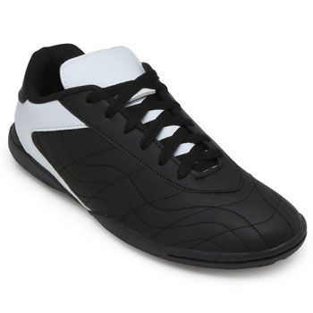 Chuteira Futsal Goleada GO19-0224 Preto-Branco