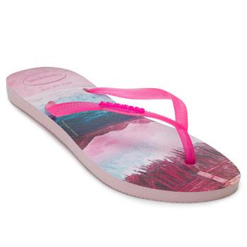 Chinelo Havaianas Slim Paisage HA20 Pink