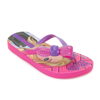 Chinelo Ipanema Barbie Infantil 26541 Rosa-Lilás