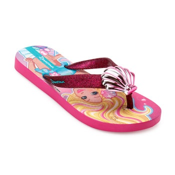 Chinelo Ipanema Barbie Sereia 26380 Rosa