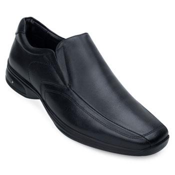Sapato Couro 3D Jota Pe JP19-71455 Preto