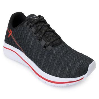 Tênis Running King Box BX20-BX2023 Preto-Vermelho
