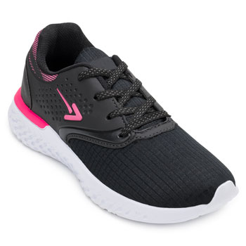 Tênis Running King Box BX20-BX2025 Preto-Pink