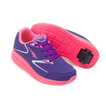 Tênis Rodinha King Kids Pé Juvenil MP20-MP0361 Roxo-Pink