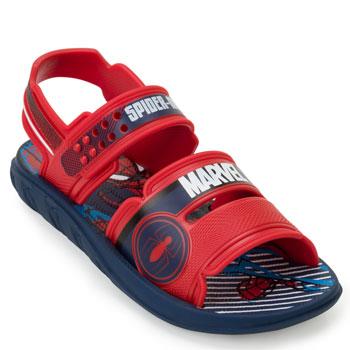 Papete Spider-Man Marvel Pack Infantil 22368 Azul-Vermelho