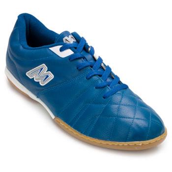 Chuteira Futsal Mathaus MT20-13352069-Roma Azul-Branco TAM 44 ao 48