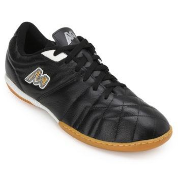Chuteira Futsal Mathaus MT19-101069 Preto-Branco TAM 44 ao 48