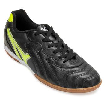 Chuteira Futsal Mathaus Veneza 113.131 Preto-Verde Limão-Preto TAM 44 ao 48