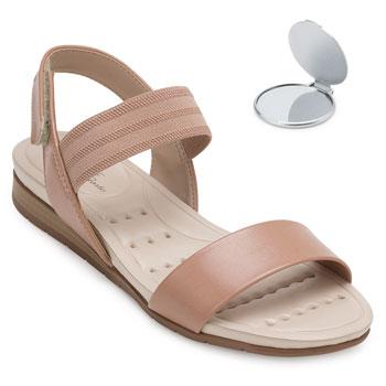 Sandália Modare Ultra Conforto e Espelho MD20-7113212 Nude