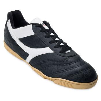 Chuteira Futsal Munique Area Indoor MN21 Preto-Branco TAM 44 ao 48