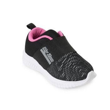 Tênis Myzon Baby MZ20-348FB Preto-Pink