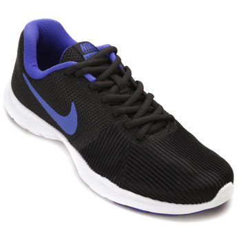Tênis Nike WMNS Flex Bijoux Preto-Roxo