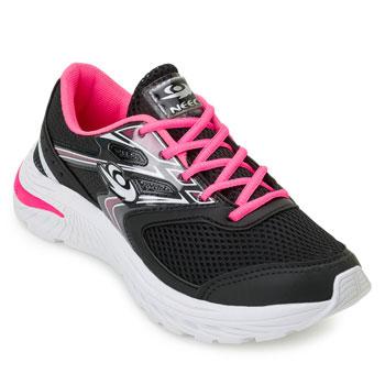 Tênis Running Neec NC20-X306 Preto-Pink