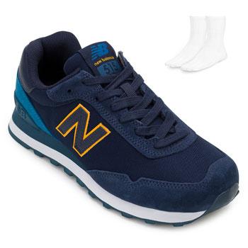Tênis New Balance e Meia NB20-ML515OTS Marinho-Branco
