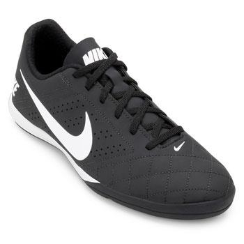 Chuteira Futsal Nike Beco 2 NK19 Preto-Branco-Preto