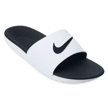 Chinelo Nike Kawa Slide NK19 Branco-Preto