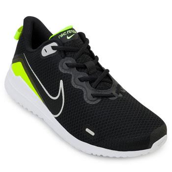 Tênis Nike Renew Ride NK20 Preto-Verde-Branco TAM 44 ao 48