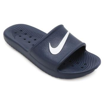 Chinelo Nike Kawa Shower Marinho-Branco
