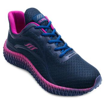 Tênis Running Olimpak OP21-0211845 Marinho-Pink TAM 40 ao 44
