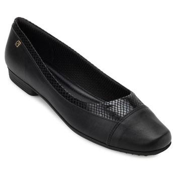 Sapato Piccadilly PD19-251060 Preto TAM 40 ao 44