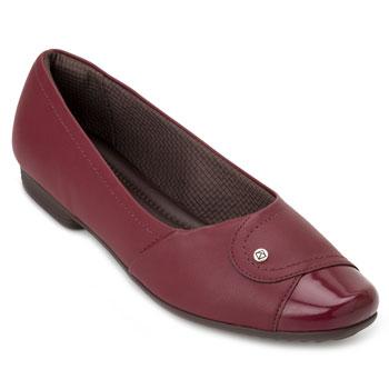 Sapato Salto Baixo Piccadilly PD20-251076 Vermelho TAM 40 ao 44