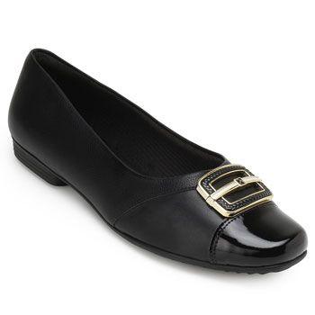 Sapato Piccadilly PD19-251050 Preto TAM 40 ao 44