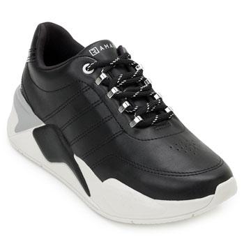 Tênis Dad Sneaker Ramarim RM20-2072204 Preto-Branco