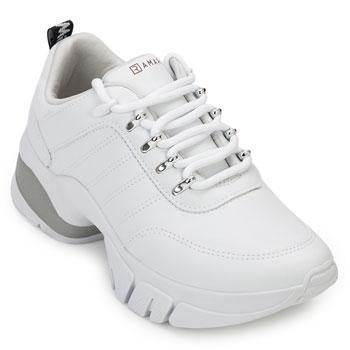 Tênis Dad Sneaker Ramarim RM20-2080203 Branco-Prata