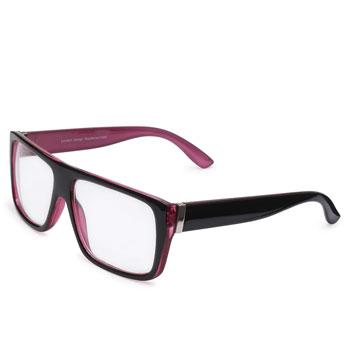 Óculos Ray Flector 1080 Preto-Lilás