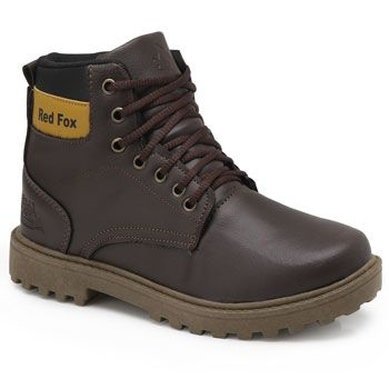 Bota Coturno Red Fox RE19-270R Marrom