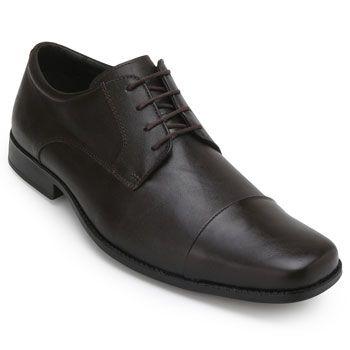 Sapato Couro Roberto RT19-9900 Marrom TAM 44 ao 48